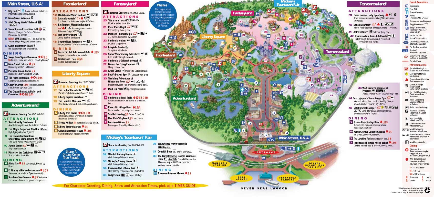 Magic Kingdom Adventureland Map 2013 Photos | Good Pix Gallery