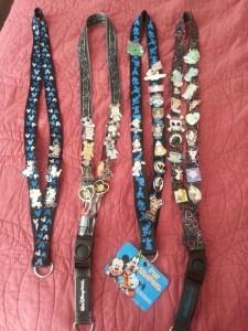 Disney Pins and Lanyards