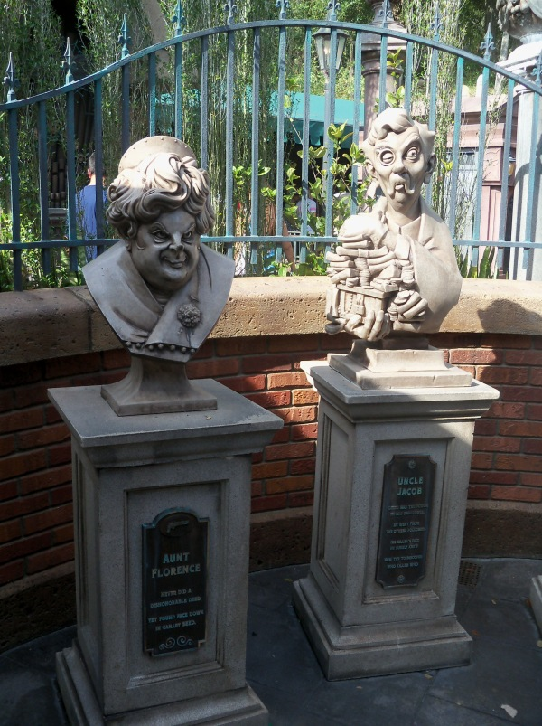 The Haunted Mansion in Magic Kingdom.